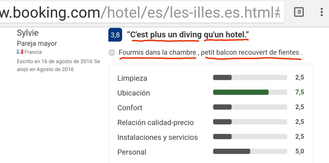 Hotel diving les illes estartit