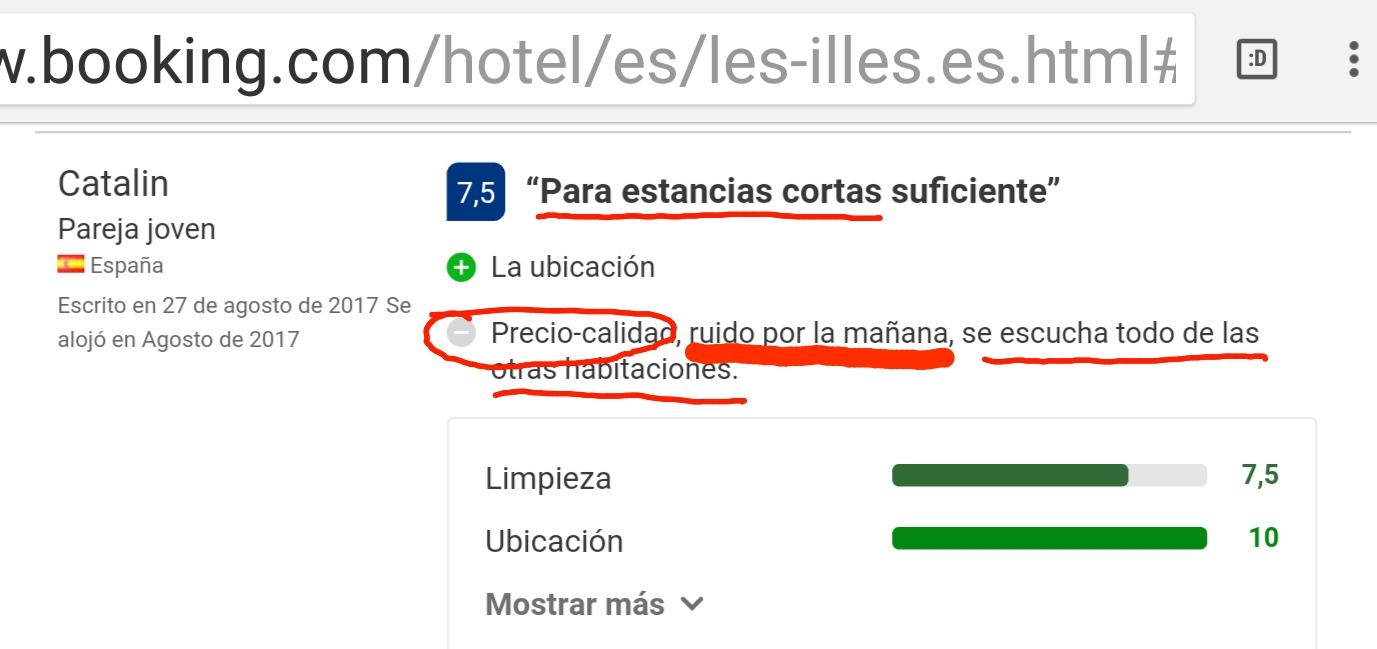 Hotel les illes booking estartit