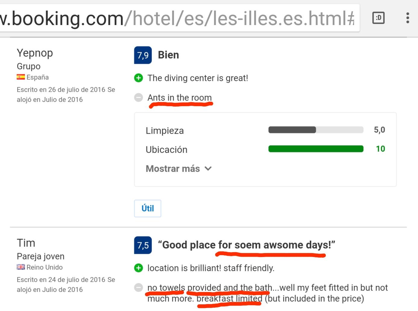 Hotel les illes estartit ants booking