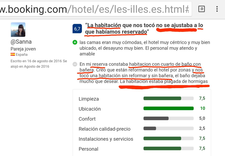 Hotel les illes estartit expectativas opinion