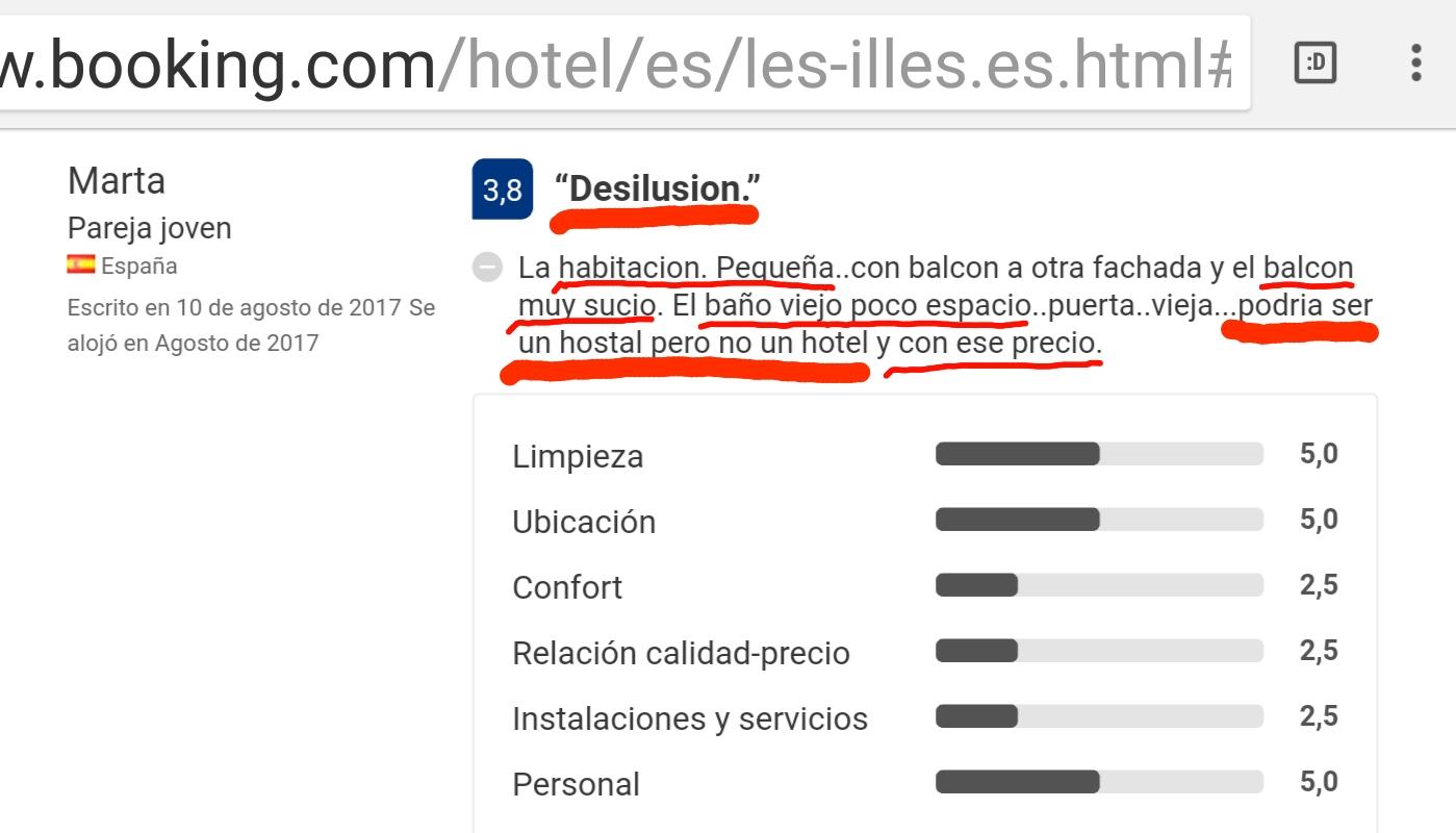 Hotel les illes estartit opinion 6