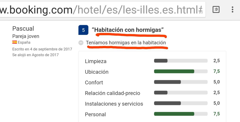 Hotel les illes hormigas estartit