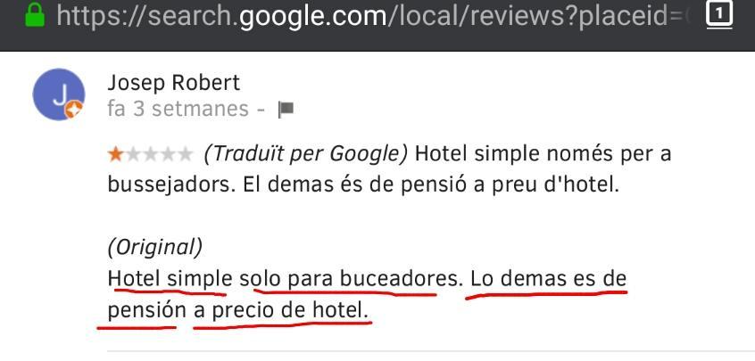 Hotel les illes pension