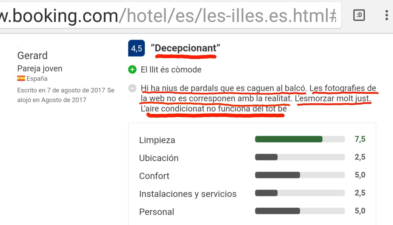 Hotel Estartit les illes Costa Brava booking